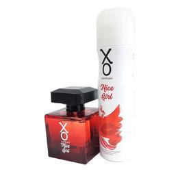 Set Nice Girl XO, Apa de toaleta 100 ml + Deodorant 125 ml de la esteto.ro