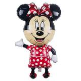 Balon Minnie Mouse, 114 cm,  Full Body, Folie Figurina, 114 x 63 cm