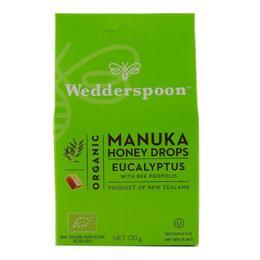 Bomboane cu Manuka, Eucalipt si Propolis Wedderspoon, 120 g