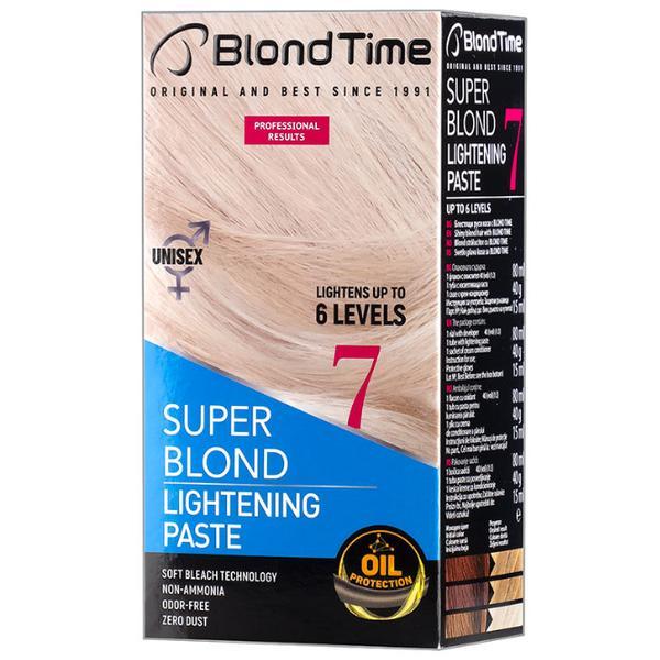 Pasta Decoloranta pentru Par Blond Time Super Blond Rosa Impex poza