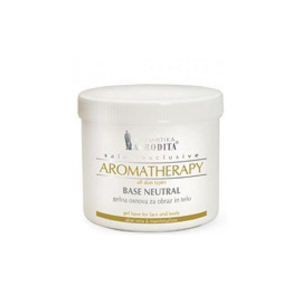Gel Baza Neutra pentru Tratamente Faciale si Corporale Aromatherapy Cosmetica Afrodita, 450 ml