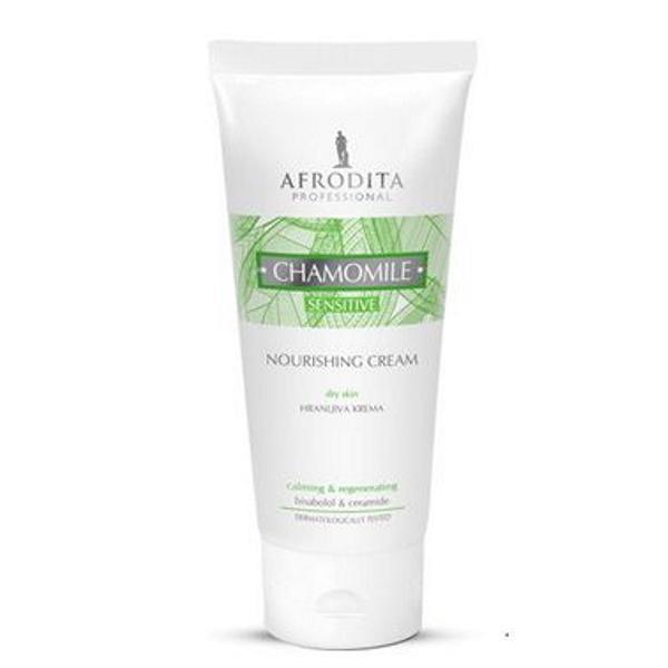 Crema Nutritiva Camomile Sensitive Cosmetica Afrodita, 200 ml