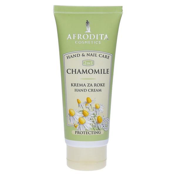 Camomile Crema Protectoare pentru Maini Cosmetica Afrodita, 100ml imagine produs