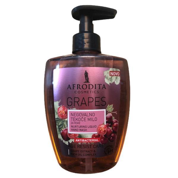 Sapun Lichid Antibacterian cu Struguri Cosmetica Afrodita, 300 ml imagine produs
