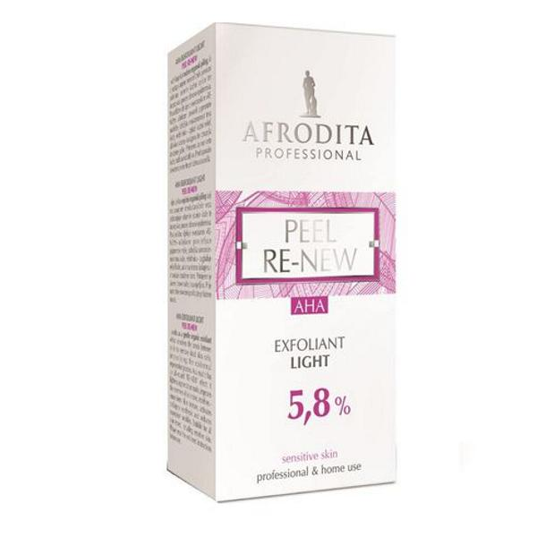 Peel Re-New Light Serum Exfoliant 5,8% AHA Cosmetica Afrodita, 30ml imagine produs