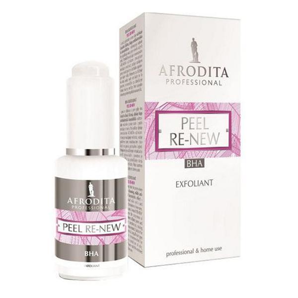 Peel Re-New Serum Exfoliant BHA 2% Acid Salicilic Cosmetica Afrodita, 30ml imagine produs