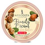 Crema cu Unt de Shea pentru Fata si Corp Family Cream Cosmetica Afrodita, 150ml