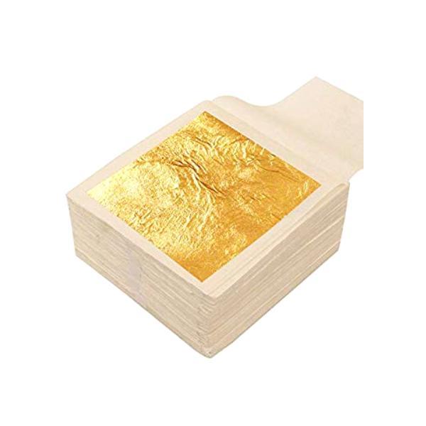 Foite cu Aur Pure Gold 24K Luxury Cosmetica Afrodita, 50x50mm, 8 buc
