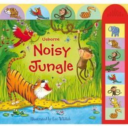 Carte cu sunete cu tematica Jungla 3 ani + autor Usborne