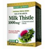 Silymarin Milk Thistle 1000 MG Natures Bounty Walmark, 60 capsule