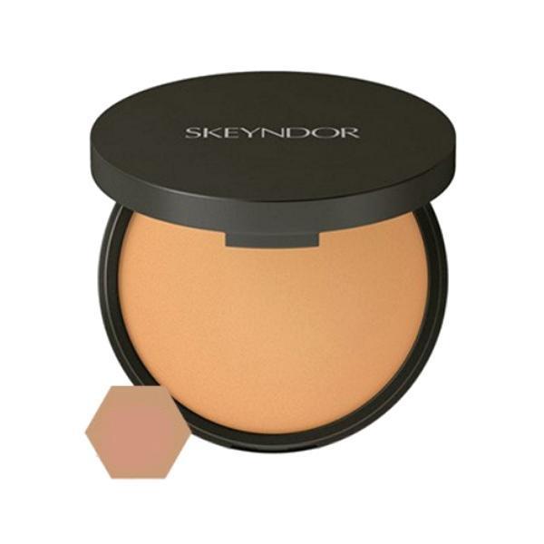 Pudra Autobronzanta Compacta pentru Tenul Matur - Skeyndor Vitamin C Age Preventing Powder, nuanta 02, 12.58g