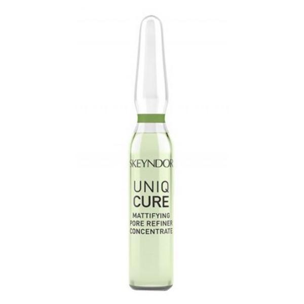 Fiole Matifiante - Skeyndor Uniqcure Mattifying Pore Refiner Concentrate, 7 fiole x 2 ml imagine produs
