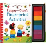 Carte de pictat cu degetelele Poppy & Sam's Fingerprint Activities editura Usborne