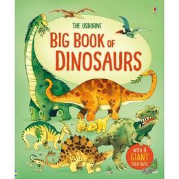 Carte despre dinozauri Big book of Dinosaurs editura Usborne