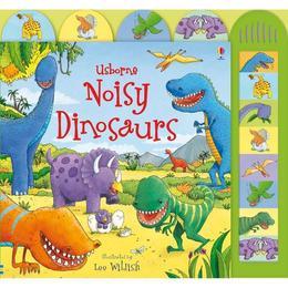 Carte cu sunete cu tematica Dinozauri +3ani editura Usborne