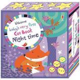 Carte senzoriala pentru nou nascuti Baby's Very First Cloth Book  Mov editura Usborne