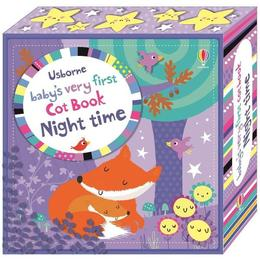 Carte senzoriala pentru nou nascuti Baby's Very First Cloth Book Mov editura Usborne