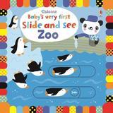Carte cartonata cu animale de la zoo editura Usborne