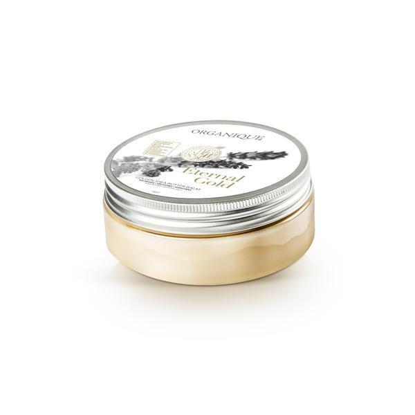 Balsam corp cu unt de shea si aur, Organique, 200 ml imagine produs
