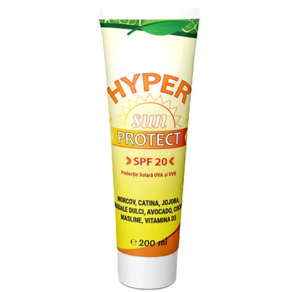 Crema de Plaja Hyper Sun Protect SPF 20 Hypericum, 200ml poza