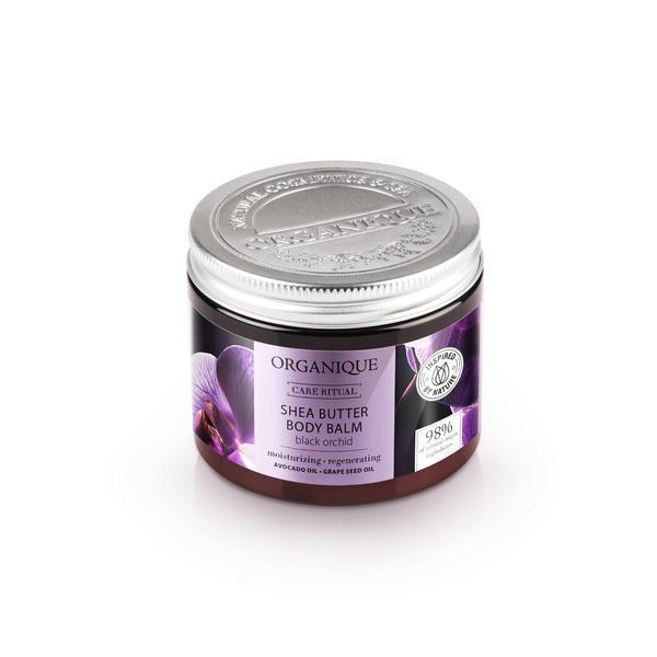 Balsam corp cu shea si orhidee neagra, Organique, 200 ml imagine produs