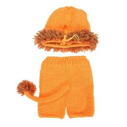 Costum Leu pentru copii, Sedinta foto nou nascut, 0-3 luni