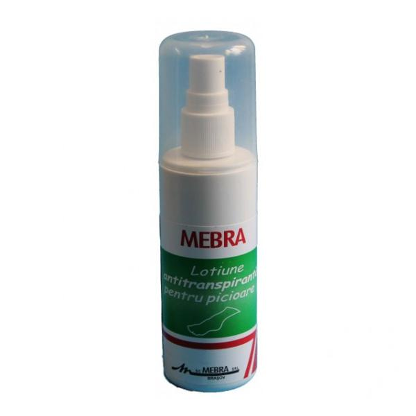 Lotiune Antiperspiranta Picioare Spray Mebra, 100ml imagine produs