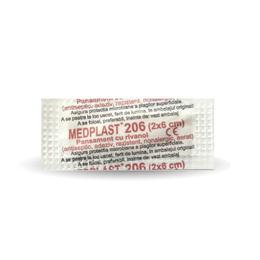 Medplast 206 (2 x 6cm) Mebra, 200 buc/cutie