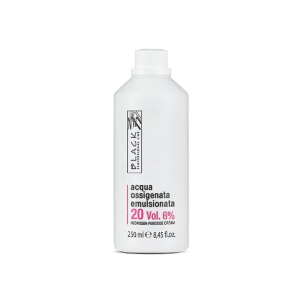 Crema Oxidanta - Black Professional Line Hydrogen Peroxide Cream, 6% - 20 Vol, 250ml imagine produs