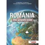 Romania. Atlas geografic scolar - Ana-Maria Marin, Ionut Savulescu, editura Paralela 45