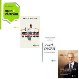 Pachet 4 carti: Sfaturi si experiente de vanzari, editura Evrika