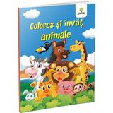 Colorez si invat animale, editura Gama