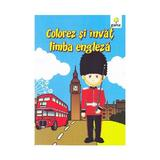 Colorez si invat limba engleza, editura Gama
