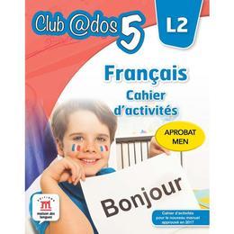 Club Dos. Francais L2. Cahier d'activites. Lectia de franceza - Clasa 5, editura Litera
