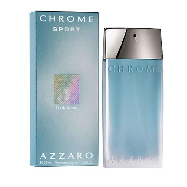 Apa de toaleta pentru barbati Azzaro Chrome Sport 100ml poza