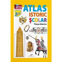 Atlas istoric scolar, editura Cd Press