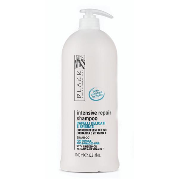 Sampon de Regenerare Pentru Par Fragil si Deteriorat - Black Professional Line Regenerating Shampoo, 1000ml esteto.ro
