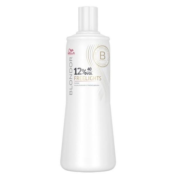 Oxidant - Wella Professionals Blondor Freelights Developer, 12% - 40 Vol, 1000ml imagine produs