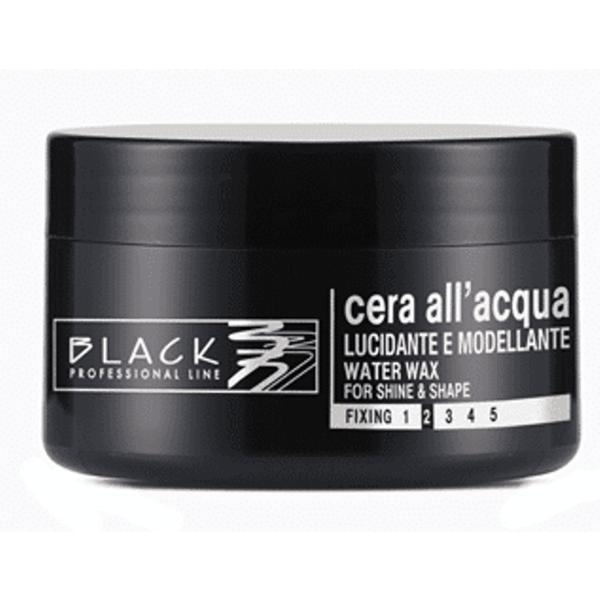 Ceara de Par pe Baza de Apa - Black Professional Line Water Wax For Structure And Shine, 100ml imagine produs