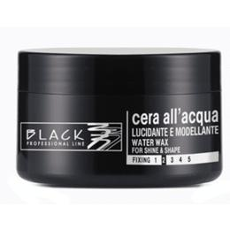 Ceara de Par pe Baza de Apa - Black Professional Line Water Wax For Structure And Shine, 100ml