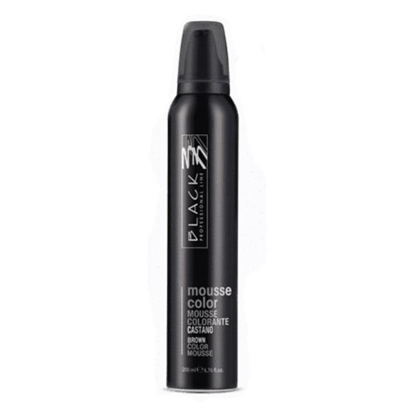 Spuma Coloranta - Black Professional Line Mousse Color Protective Colouring Brown, 200ml imagine produs