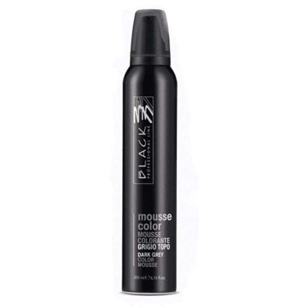 Spuma Coloranta - Black Professional Line Mousse Color Protective Colouring Dark Grey, 200ml imagine produs