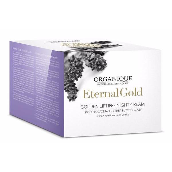 Crema de noapte cu aur, Organique, 50 ml