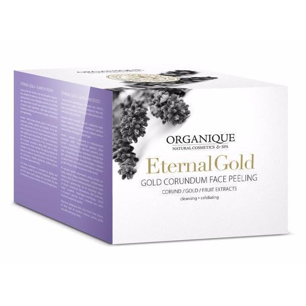 Exfoliant facial cu aur, Organique, 50 ml imagine produs
