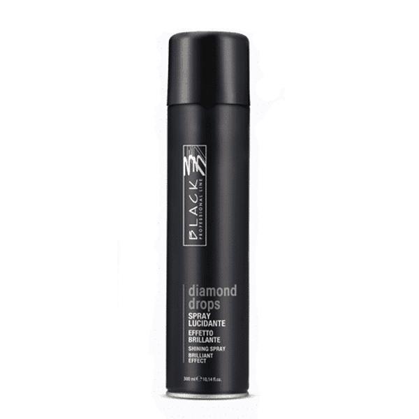 Spray pentru Stralucire - Black Professional Line Diamond Drops Brilliant Effect Shining Spray, 300ml esteto.ro