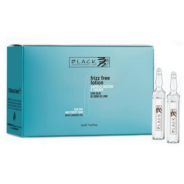 Lotiune Anti-Frizz Fiole - Black Professional Line Anti-Frizz Treating Lotion, 12 x 10ml