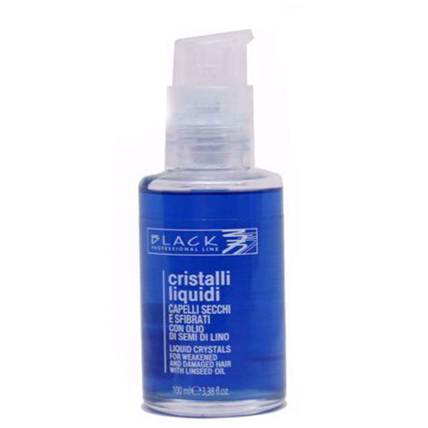 Cristale Lichide pe Baza de Ulei de Seminte de In - Black Professional Line Blue Linseed Oil Liquid Crystals, 100ml imagine produs
