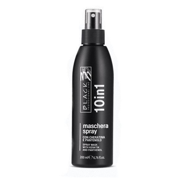 Masca Spray cu 10 Beneficii - Black Professional Line 10 in 1 No-Rinse Spray Mask, 200ml imagine produs