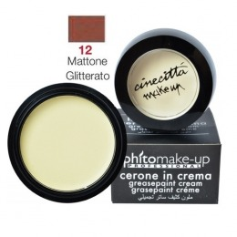 Fard Cremos Mediu - Cinecitta PhitoMake-up Professional Cerone in Crema Grease - Paint nr 12