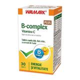 B-complex si Vitamina C Plus Walmark, 30 tablete